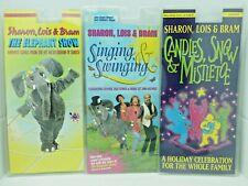 Sharon, Lois & Bram 3 titles cassette PACK  3 cassette lot