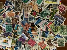 200 Different World used stamps off paper genuine unpicked old and new