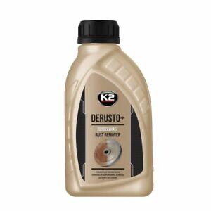 K2 DERUSTO PLUS Rust Remover Killer Treatment Liquid Biodegradable - 500ml