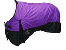"Purple 72"" 1200D Winter WATERPROOF and BREATHABLE Turnout BLANKET Horse Size"