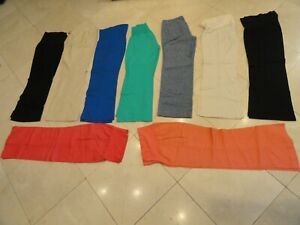 Lot of (9) Women's Linen Pants, Ann Taylor Loft, The Limited, Arden B. 10 or S