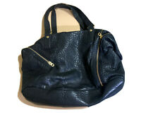 Marc By Marc Jacobs Totally Turnlock Faridah Shoulder Bag Black Leather Hobo
