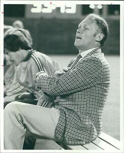 1979 Rinus Michels LA Aztecs Soccer Head Coach Original News Service Photo