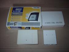DeTeWe TA 33 USB Telefonanlage gebraucht mit Zubehör
