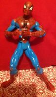 2002 Marvel Comics Spiderman Loose Action Figure Red Blue Outfit