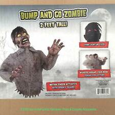 Funny Animated BUMP and GO ZOMBIE TORSO Haunted House Halloween Prop Decoration