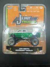Jada Toys. Just Trucks 1999 Chevy Silverado Dooly
