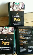 Pet first aid kits x 3 brand new reliance medical supplies dog accessory cats