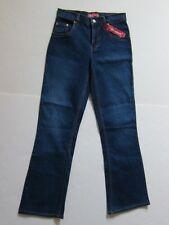 NEW Levi's Blue Denim Jeans for Girls 517 Stretch Flare Regular Fit Girl's Sz 14