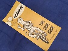 1970s Schwinn Bicycle advertising Tire Care service pamphlet
