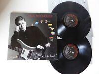Paul McCartney All The best! Double Vinyl LP PMTV1 inc Lyric Inner Sleeves