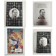 Stan Lee - Limited Slipcase Edition - Hand Signed  - A Marvelous Memoir - UK