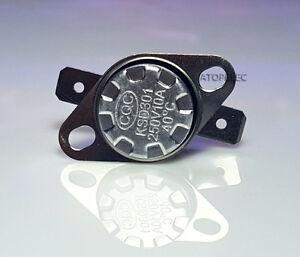 1pc/5pcs KSD301 NO/NC Thermostat Temperature Thermal Control Switch 20°C-180°C