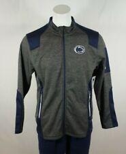 Colosseum Mens NCAA-Blocker Corded Polar Fleece-Full Zip Jacket