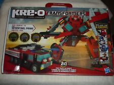 2011 Hasbro Kre-O Transformers Sentinel Prime (30687)  MOSTLY SEALED