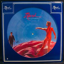 RUSH-Rare HEMISPHERES Picture Disc-Geddy Lee-Alec Lifeson-Neil Peart-Prog Rock