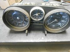 Mercedes  W108 W114 1960's and others  instrument cluster dash panel