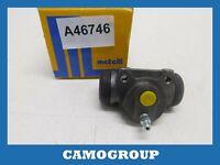Cylinder Rear Brake Rear Wheel Brake Cylinder Metelli PEUGEOT 306