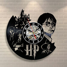 Harry Potter_Exclusive wall clock made of vinyl record_GIFT