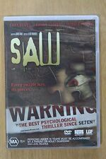 Saw (DVD, 2005)  VGC Pre-owned (D49)
