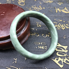Chinese Beautiful Genuine Natural Green Jade Gems Bangle Bracelet 60mm Jewelry