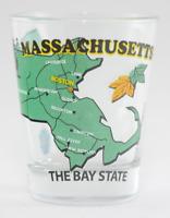 MASSACHUSETTS THE BAY STATE ALL-AMERICAN COLLECTION SHOT GLASS SHOTGLASS