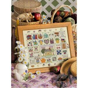 Home Sweet Home, CROSS STITCH PATTERN, Country Design by Christine Hendricks