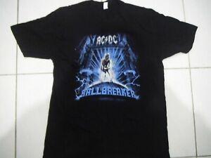 AC/DC BALLBREAKER 25TH ANNIVERSARY T-SHIRT SIZE XL OFFICIAL MERCH