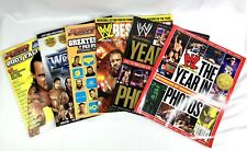 WWE Magazine Lot Of 6 - 2007 Fall Preview, Year In Photos 2010 & 2012, Plus More