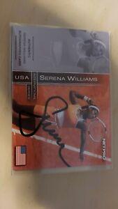SERENA WILLIAMS 2003 Netpro International AUTO Autograph #d 122/500