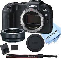 Canon EOS RP Mirrorless Digital Camera 26.2 MP + Mount Adapter EF-EOS R