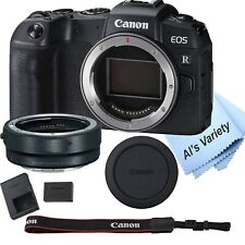 Canon EOS RP Mirrorless Digital Camera 26.2 MP + Mount Adapter EF-EOS R