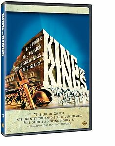 KING OF KINGS (1961 Jeffrey Hunter)  - UK Compatible - DVD - Sealed
