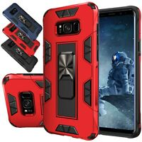 For Samsung Galaxy S8 / S8 Plus Case Kickstand Shockproof Armor Hard Cover