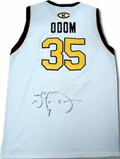 Lamar Odom Hand Signed Autographed Royals #35 Jersey Very Rare!