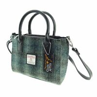 Ladies Authentic Harris Tweed Small Tote Bag | With Shoulder Strap LB1228 COL 91