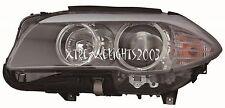 BMW 5 SERIES SEDAN 2011-2013 LEFT DRIVER HEADLIGHT HEAD LIGHT FRONT LAMP