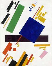 'Suprematist Composition quadro - Stampa d''arte su tela telaio in legno'