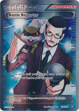 Pokemon Furious Fists Battle Reporter - 109/111 - Full Art Ultra Rare Full Art U