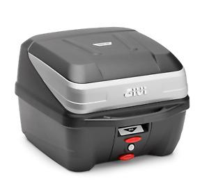 GIVI B32 BOLD TOP BOX Monolock Topbox CASE 32 Litres 2019 B32NMAL with Z113C