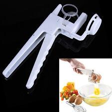 EZ Egg Cracker Handheld York & White Separator As Seen On TV Kitchen Gadget Tool