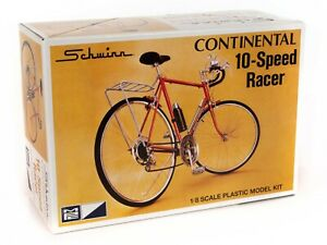 1:8 MPC *SCHWINN* Continental 10-Speed Racer Bicycle Plastic Model Kit *MISB*