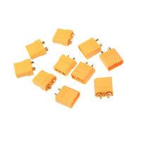 10pcs XT90 Fiches de connexion et couvercles de protection pour chargeur dOP