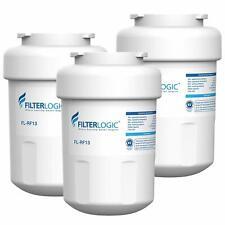 (3 Pack) Refrigerator Water Filter Fits Ge Zis420Nrk,Ziss420Dress,Ds s25Ksrbss