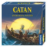 KOSMOS Catan Erweiterung Entdecker und Piraten Strategiespiel ab 12 J. 693411