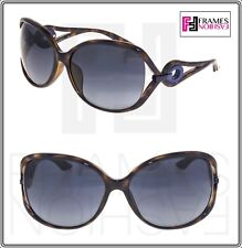 d2cd231d63 Christian Dior Volute 2f Havana Blue Gradient Wrap Sunglasses Volute2fs  Women