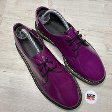 Dr Martens Purple Patient Leather Shoes Size 7 EU 41