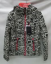 Obermeyer Womens Leighton Insulated Ski Jacket 11080 Leopard Size 6/Petite