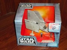 STAR WARS ACTION FLEET IMPERIAL SHUTTLE TYDIRIUM WITH HAN & CHEWBACCA MINI FIGS