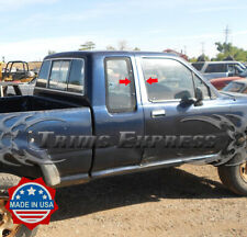 fit:1989-1994 Toyota Truck Pickup Tacoma 4Pc Chrome Pillar Post Stainless Trim